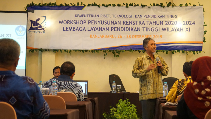 LLDIKTI XI Gelar Workshop Penyusunan Rencana Strategis 2020-2024